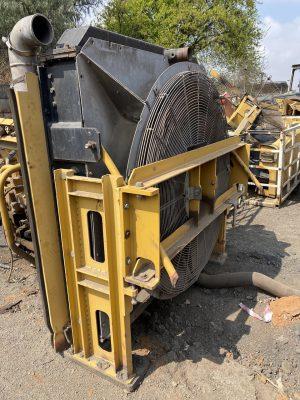 cat 390 excavator cooling pack